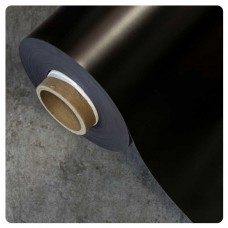 0.85mm x 620mm Black Matt magnetic material