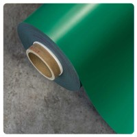 0.85mm x 620mm Green Matt magnetic material