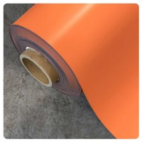 0.85mm x 620mm Orange Matt magnetic material