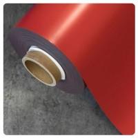 0.85mm x 620mm Red Matt magnetic material