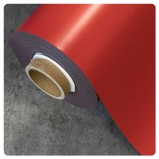 0.85mm x 620mm Red Matt magnetic material