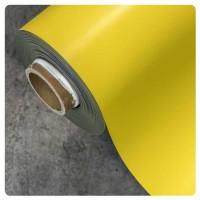 0.85mm x 620mm Yellow Matt magnetic material