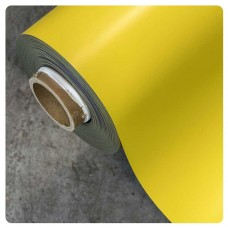 0.85mm x 620mm Yellow Matt magnetic material