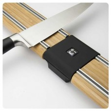 Bamboo Magnetic Knife Rack