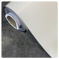 0.6mm x 1200mm White Matt Ferro Dry Wipe with Adh/Back