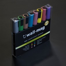Liquid Chalk Marker Pens (Set of six) Metallic colours