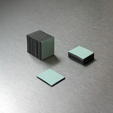 0.75mm x (25mm x 30mm) Adh. Back magnetic material
