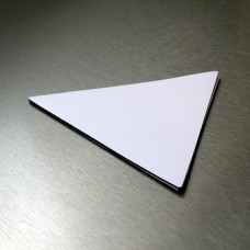 0.85mm Triangle 160mm x 160mm x160mm White Gloss
