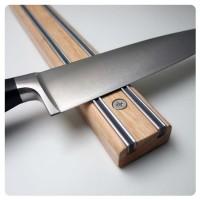 Bisigrip Rubberwood Knife Rack (450mm) (No end caps)
