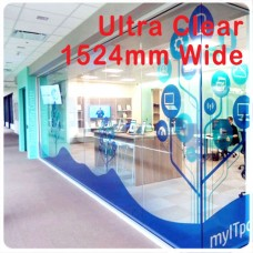 UV inks 1524mm wide Ez-cling Ultra clear